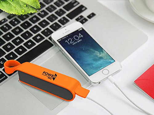 energy Brik portable Charger energy Bank For Samsung Android iPhone Cell telephones iPads iPods Tablets Waterproof 2600 mAh Capacity portable energy Banks