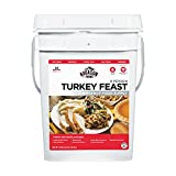 Augason Farms Turkey Feast 8 Person Emergency Food Supply 4 lbs .62 oz 4 Gallon Pail
