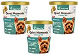NaturVet (3 Pack) Quiet Moments Calming Aid Plus Melatonin Soft Chews for Dogs, 70-Count Each