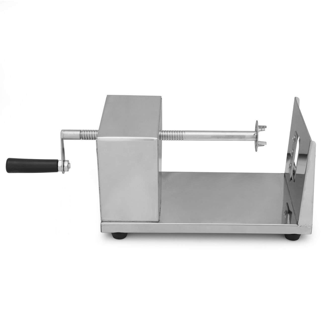 Coupe-Frites Machine Appareil Trancheuse en INOX pour D/écouper Torsader en Manuel Patate L/égume Concombre Carotte Iglobalbuy Eplucheur en Spiral de Pomme de Terre
