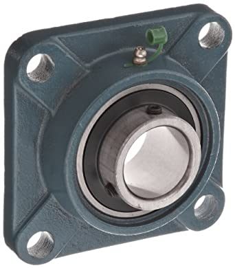 40mm Mounted Bearing UCF208 + Square Flanged Cast Housing