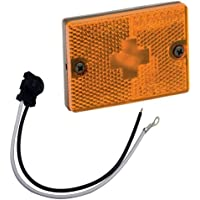 WESBAR 203117 / Wesbar Amber Sidemarker Clearance Light w/18 Pigtail