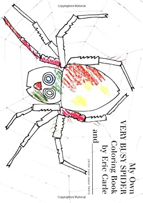 My Own Very Busy Spider Coloring Book from Philomel