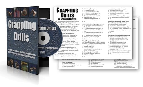 Grappling Drills for Brazilian Jiu Jitsu and Submission Grappling
