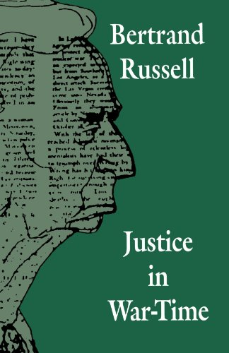 Book cover for Justice in War-Time