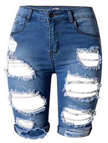 DQQ - Pantaloncini - Donna Profondo blu