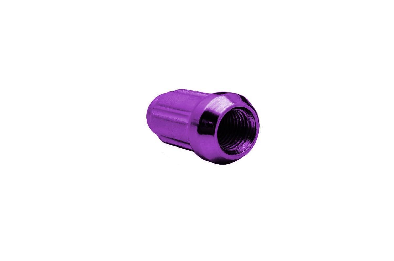color morado CPR Cerrar Ended llaves de acero poste de rueda tuercas 20/unidades con clave M12/x 1,5