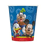Unique Mickey Mouse Paper Cups, 8-Count, 9-Ounce