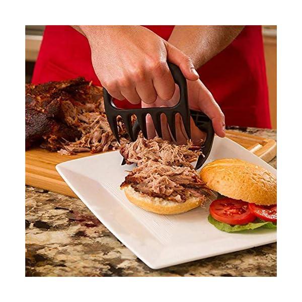 HPPL2PC / Set Orsi di Orso Pinze per forchette per Barbecue Tirare Carne Braciole di Maiale Pinza per arrosto Forchetta… 2 spesavip