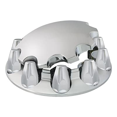 Grand General 40180 Chrome ABS Front Axle Cover Set: Automotive