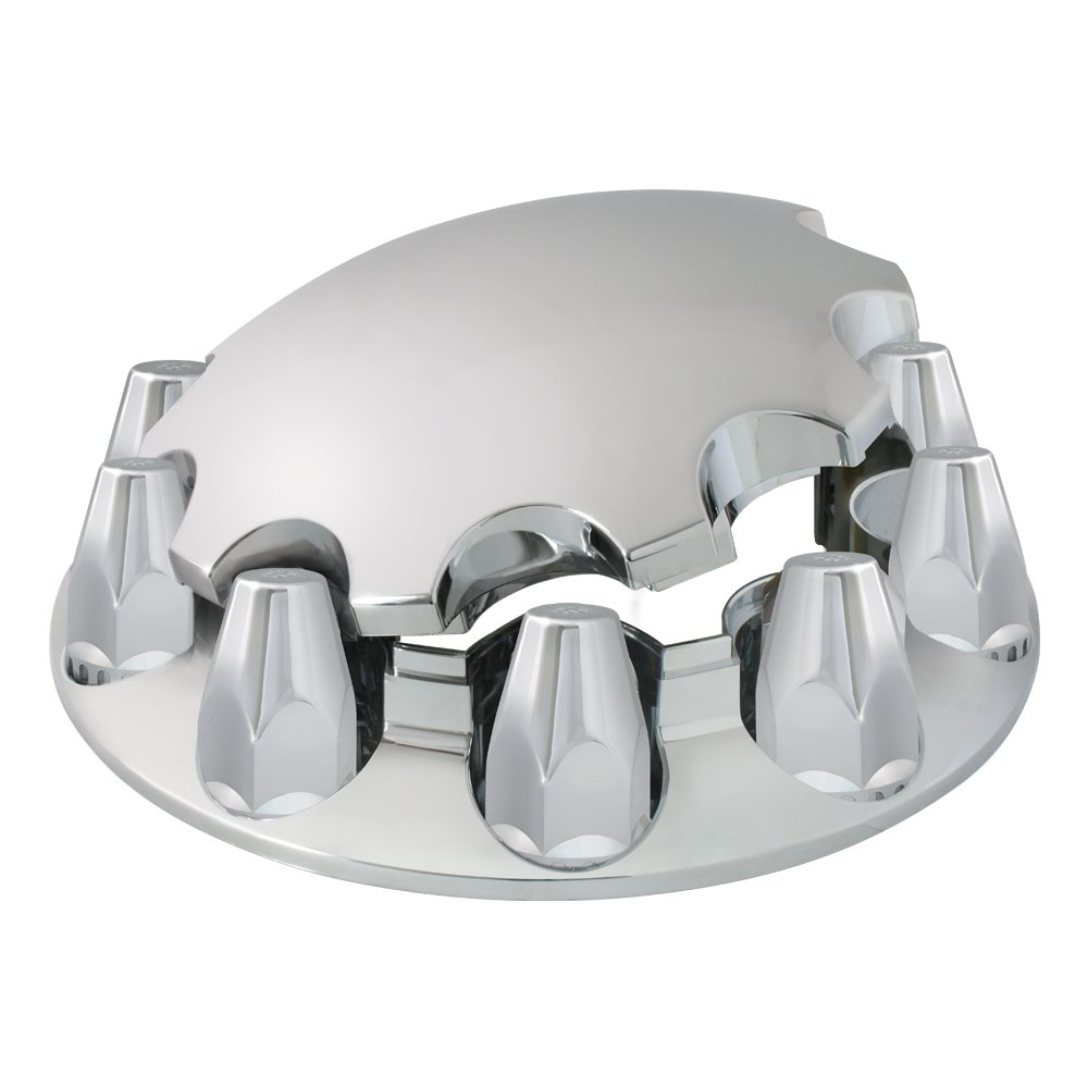 Grand General 40182 Chrome ABS Front Axle Cover Set