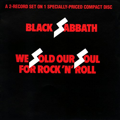 CD : Black Sabbath - We Sold Our Souls for Rock N Roll (CD)