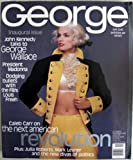 George Magazine Inaugral Issue - Cindy Crawford Cover October / November 1996