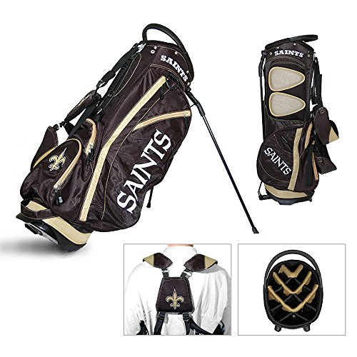 NFL Fairway Stand Bag NFL Team: New Orleans Saints by Team Golf