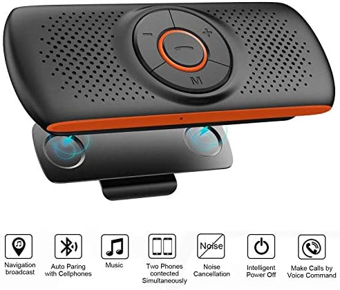 Bluetooth Speakerphone Back Clip Assistant Supported product image