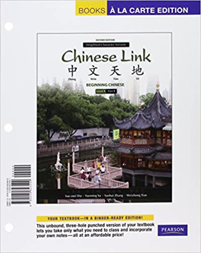 Amazon com: Chinese Link: Beginning Chinese, Simplified Character