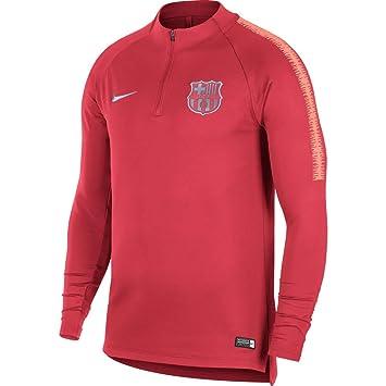 218f0c22db63 Nike 2018-2019 Barcelona Drill Training Top (Tropical Pink): Amazon ...