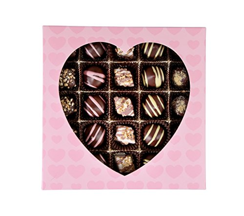 Chocolate Gift Box, Finest Gourmet Assorted Chocolates, Great Happy Birtday, Appreciation or Corporate (Gift Baskets Candy)