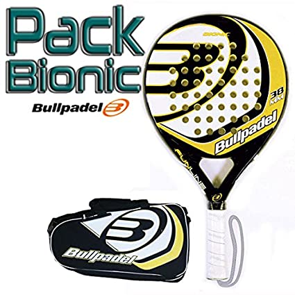 Pack Bullpadel Bionic Yellow: Amazon.es: Deportes y aire libre