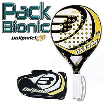 Pack Bullpadel Bionic Yellow: Amazon.es: Deportes y aire libre