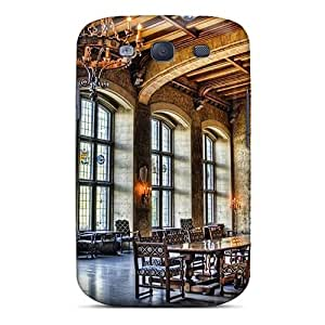 JoinUs Premium Protective Hard Case For Galaxy S3- Nice Design - Great Dinning Room In A Castle Hdr