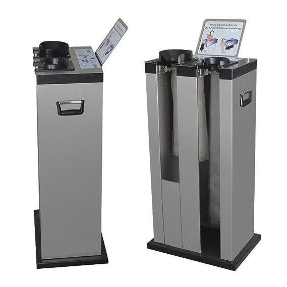 Máquina Embolsadora Paraguas Doble, acero inox, incluye 350 bolsas: Amazon.es: Oficina y papelería