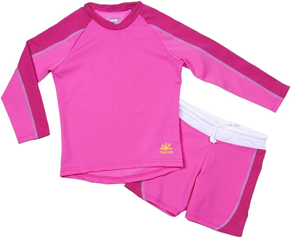 weVSwe Baby Toddler Sun Protection Rash Guard Swimsuit with Crotch Zipper