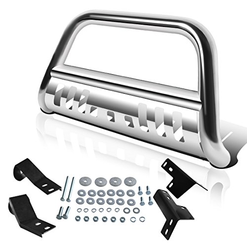 AUTOSAVER88 Bull Bar Compatible for 05-15 Toyota Tacoma 3