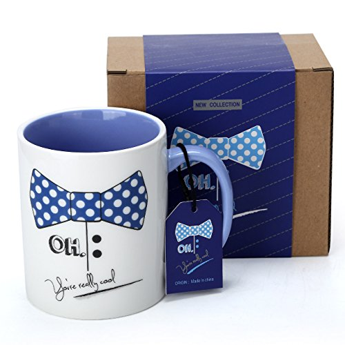 Coffee Mug - Cute 3D Giraffe Mugs Funny Mugs 13.6Oz Porcelain Tea Cup with Lid & Spoon Kids Birthday Gifts for Women,Friends,Girlfriend, Boyfriend by Doublewhale (You are really cool) (Really Cool Gifts For Best Friends)