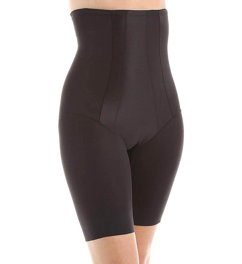 01254cb922 Details about NWT Miraclesuit Shapewear Women s Extra Firm Shape with an Edge  Hi-Waist Long.