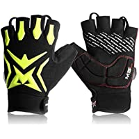 Mysenlan Men's Cycling Bicycle Half Finger Gloves Outdoor Sports Mountain Road Bike Riding Glove