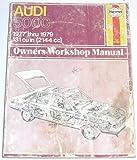 Audi New 100 and Avant (Haynes owners workshop manual) by Alec J. Jones (1980-03-06)
