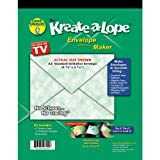 (US) Green Sneakers Kreate-A-Lope Envelope, Template A2