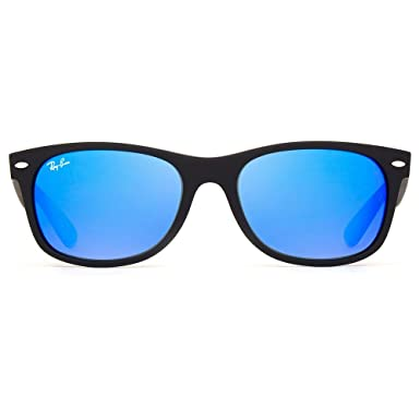 24450c7f6627b Óculos de Sol Ray Ban New Wayfarer Flash RB2132LL 622 17-55  Amazon ...
