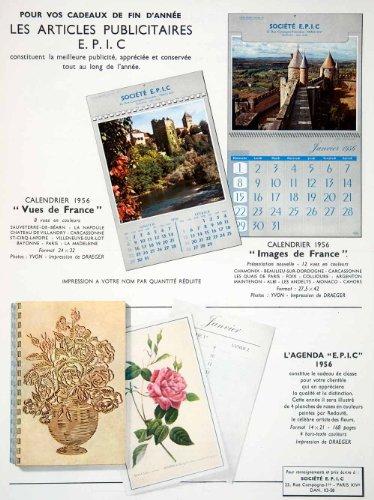 Lithograph Calendar - 8