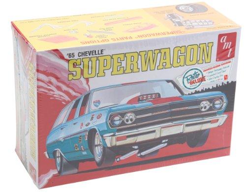 Chevy Chevelle Wagon - 1965 Chevy Chevelle SuperWagon 4n1 1/25 AMT
