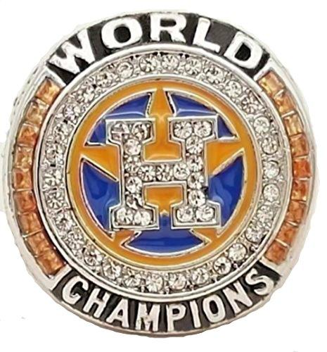 World Series Replica - 2017 HOUSTON ASTROS WORLD SERIES REPLICA RING (silver) (9) Altuve