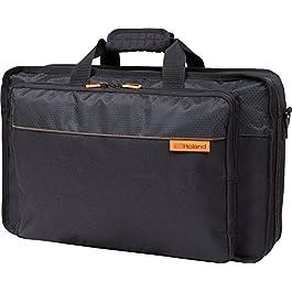Roland CB-BDJ202 Black Series DJ-202 Mixer Bag with Shoulder Strap