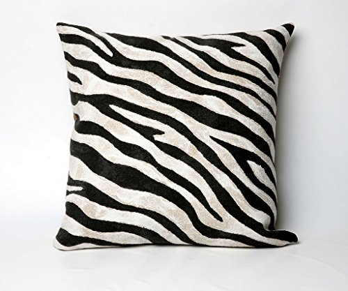 Modern & Contemporary Zebra Print Pillow Hand Made Outdoor Indoor Various Sizes