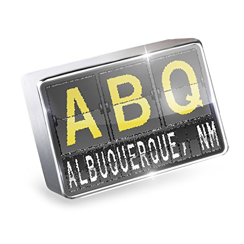Floating Charm ABQ Airport Code for Albuquerque, NM Fits Glass Lockets, - Albuquerque Airport Shops