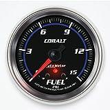 Auto Meter 7961 Cobalt 2-5/8'' 0-15 PSI Full Sweep Electric Fuel Pressure Gauge
