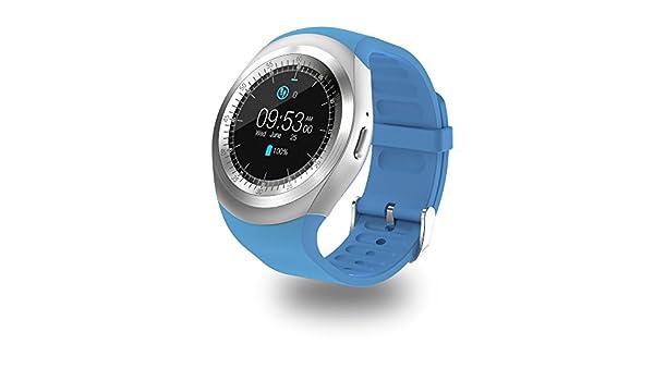 SMARTWATCH SMARTEK SW-422 (Azul): Amazon.es: Deportes y aire ...