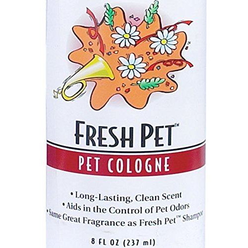 Fresh Pet Scented Dog & Cat Cologne Grooming Mist Spritz - 8 oz Spray Bottle