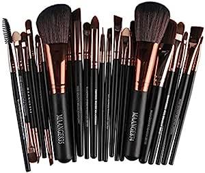 22 pcs/sets makeup brush sets Coffee