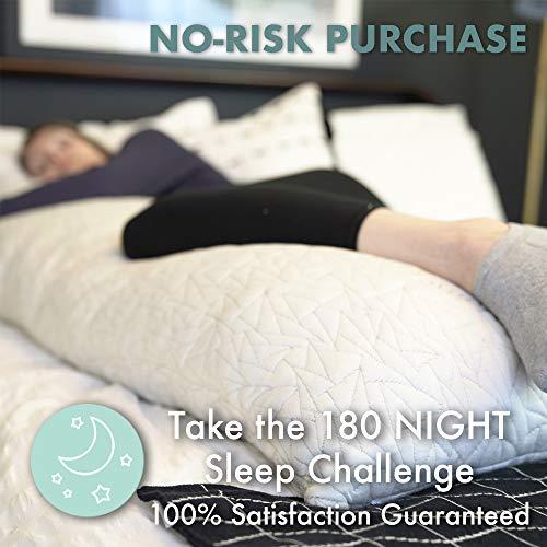 EnerPlex Never-Flat Body Pillow