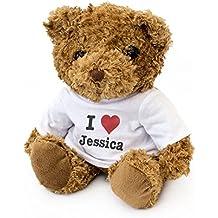NEW - I LOVE JESSICA - Teddy Bear - Cute And Cuddly - Gift Present Birthday Valentine
