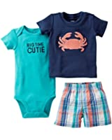 Carter's Baby Boys' 3 Piece Diaper Cover Set