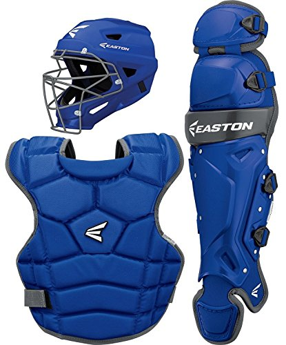 Easton Prowess P2 Fast Pitch Catcher's Box Set, Royal