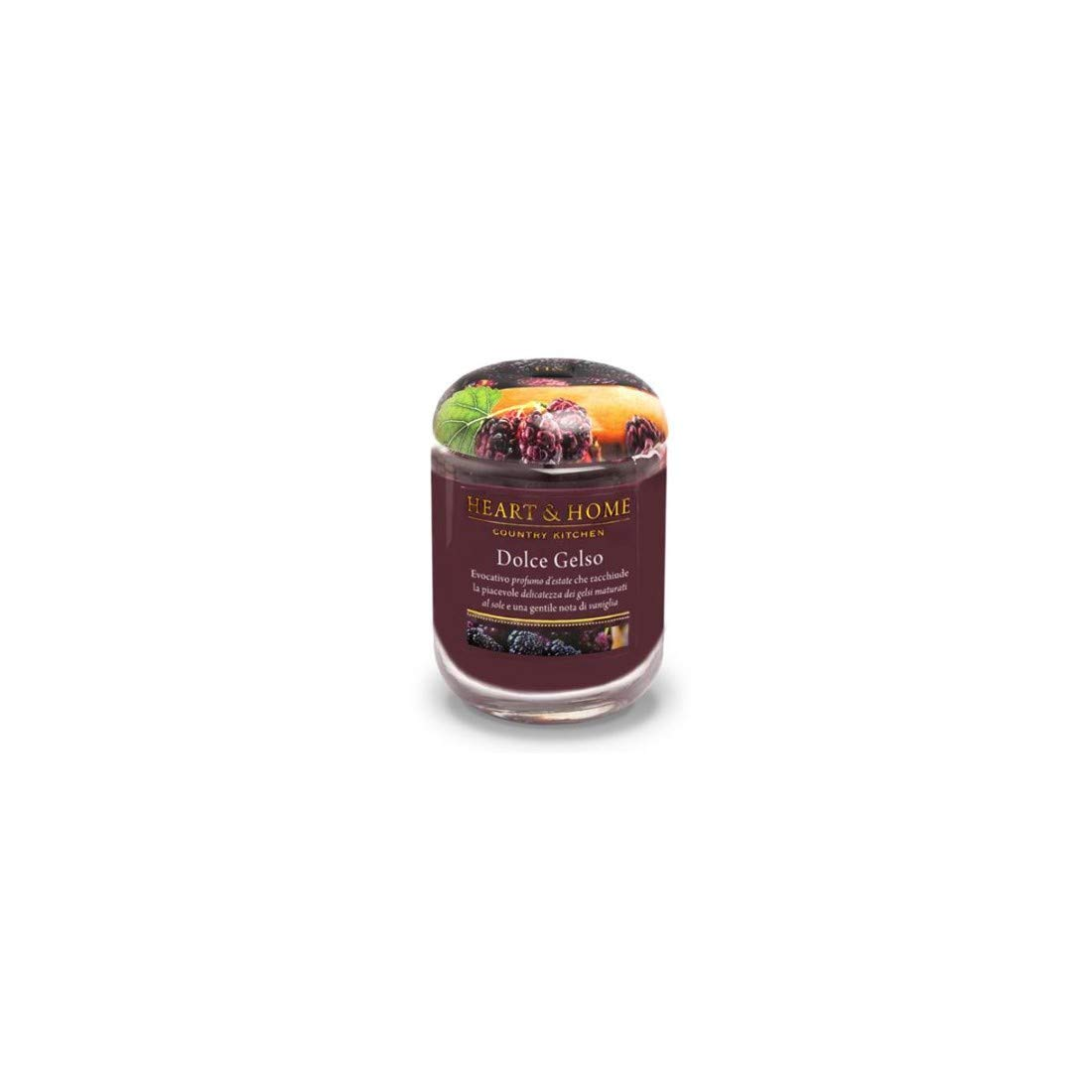 Dolce gelso Heart and Home candela in cera di soia 115 g