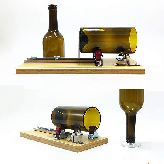 Máquina del Cortador De La Botella De Cristal para La Botella Cuadrada Y Oval Redonda, Herramienta De Corte para Los Proyectos De DIY: Amazon.es: Hogar